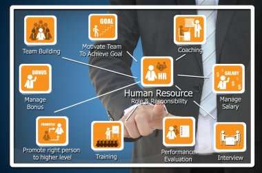 Human Resource Role and Responsibility Concept