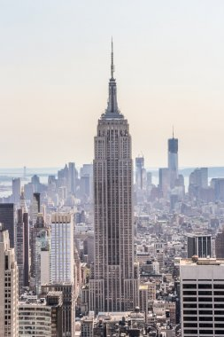 Empire State Building with its surrounding