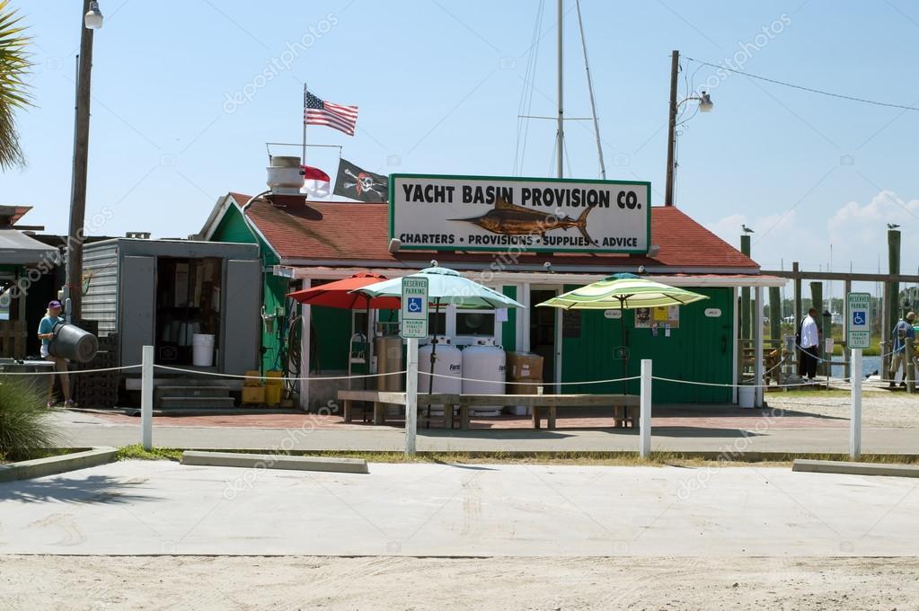 Southport Nc Aug 15 2015 Yacht Basin Provision Company Restaurant
