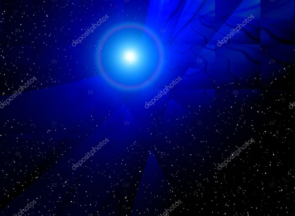 Abstract Dark Blue Galaxy Background For Various Design Artworks Photo By Elenstudio