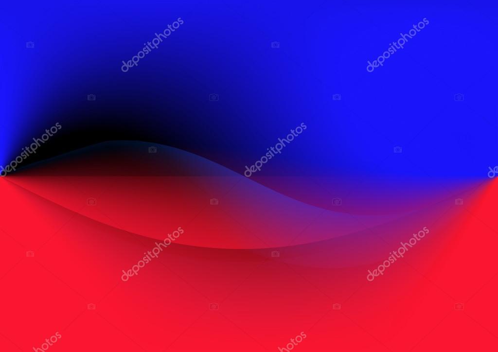 Abstracto Fondo Rojo Y Azul