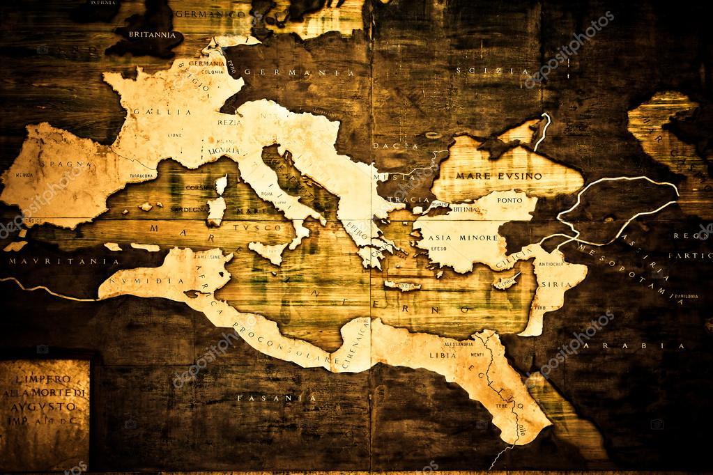 Gammal Karta Italien.Gammal Karta Over Italien Stockfotografi C Elenstudio 43688769