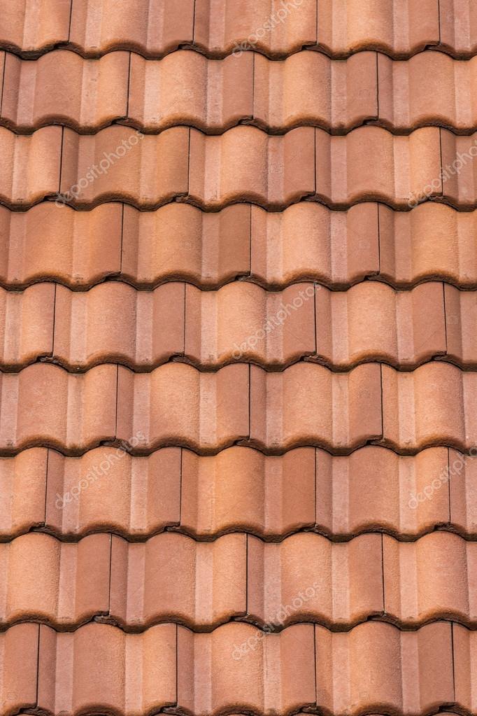 Dachziegel textur seamless  orange Dach Kachelhintergrund Textur — Stockfoto #51264021