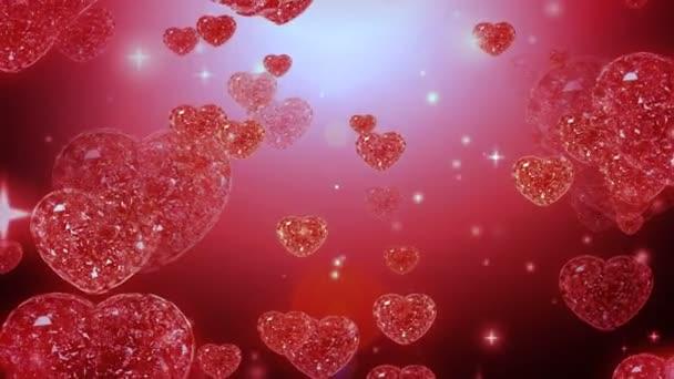 smyčka schopný diamanty srdce