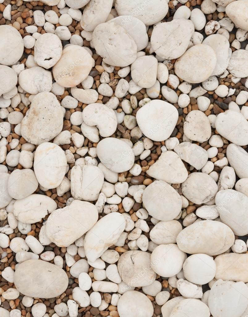 pebbles vit sten