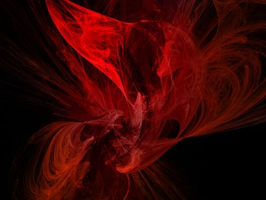 red colorful fantasy background abstract illustration