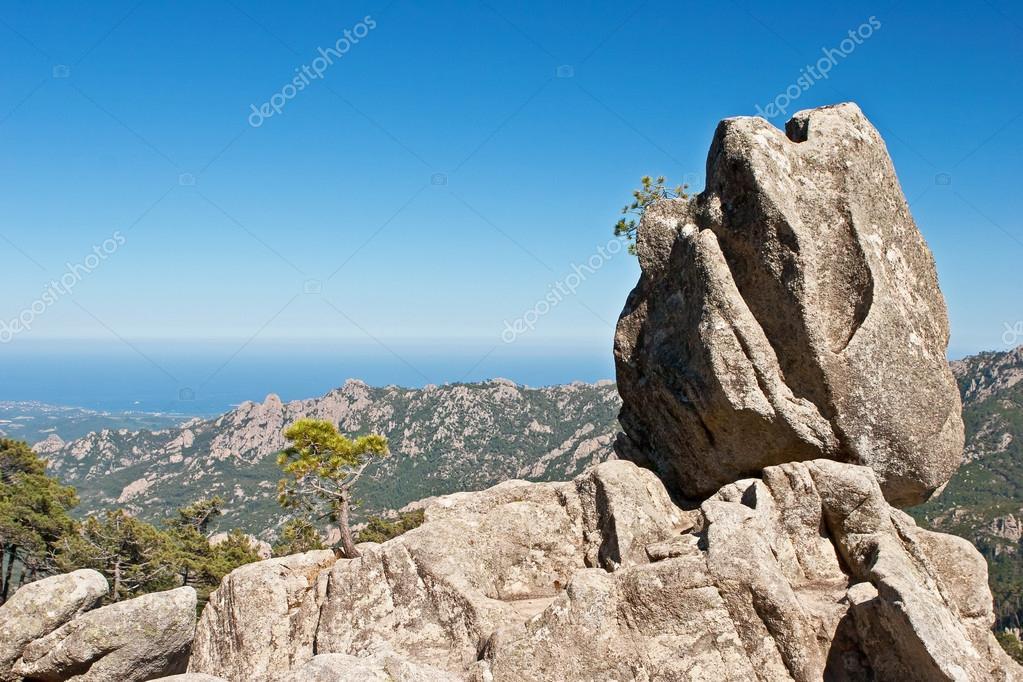 le rocher de la sentinelle de la corse photographie sherpanet 36371513. Black Bedroom Furniture Sets. Home Design Ideas