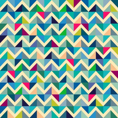 Seamless geometric, abstract pattern.