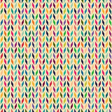 Seamless geometric pattern with zigzags.