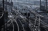 Fotografie Eisenbahngleise