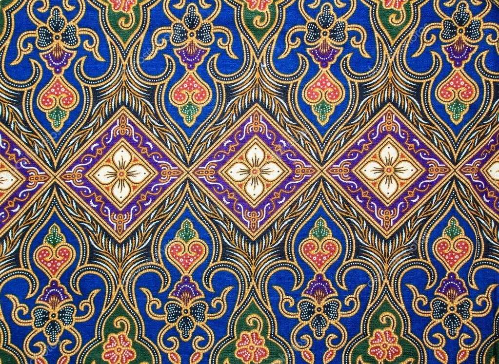 Beaux Motifs De Floral Batik Indon Sie Motifs Photo 33381215