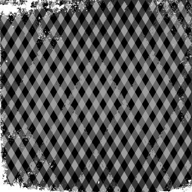 Text box square pattern