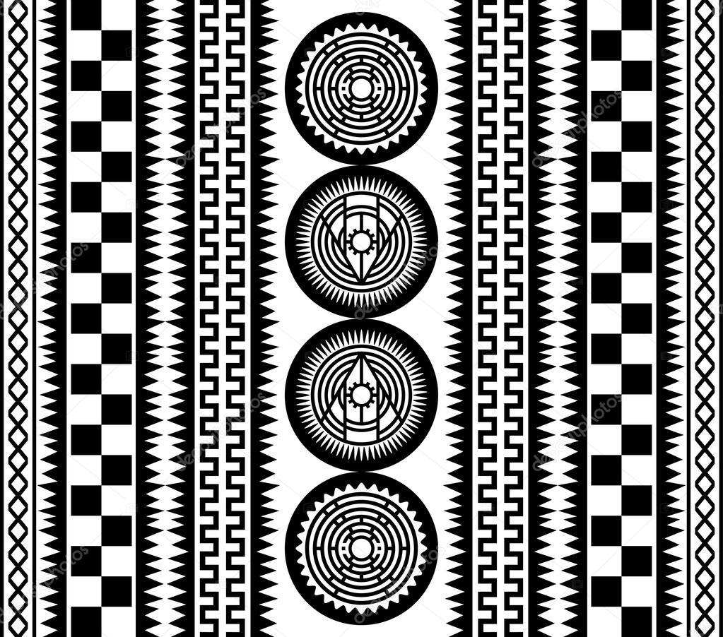 native american pattern art — stock vector © vectorfirst