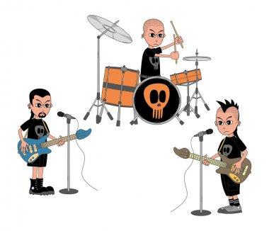 Music band show