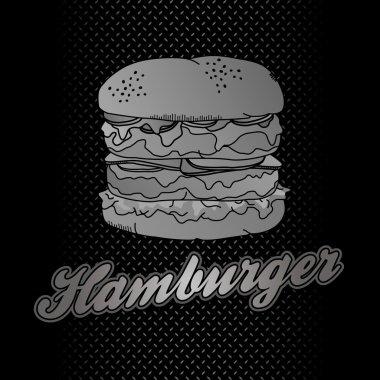 Burger label