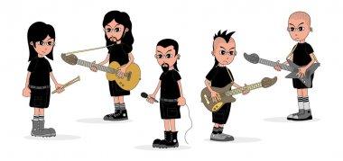 Musician cartoon
