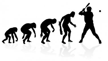 Evolution of a Baseball Player