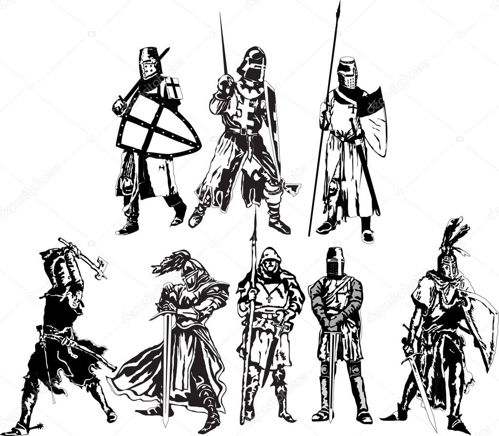 Áˆ Cartoon Knights Stock Images Royalty Free Knights Pictures Download On Depositphotos