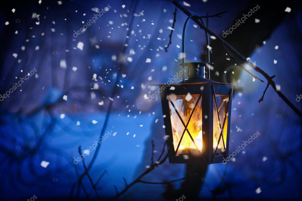 Christmas Lantern Stock Photo 169 M Grau 32885619