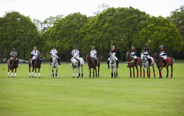 Berkshire, United Kingdom-May 11, 2014: HRH Prince William and HRH Prince Harry in attendance for the De Beers Diamond Jewellers Royal Charity Polo Cup