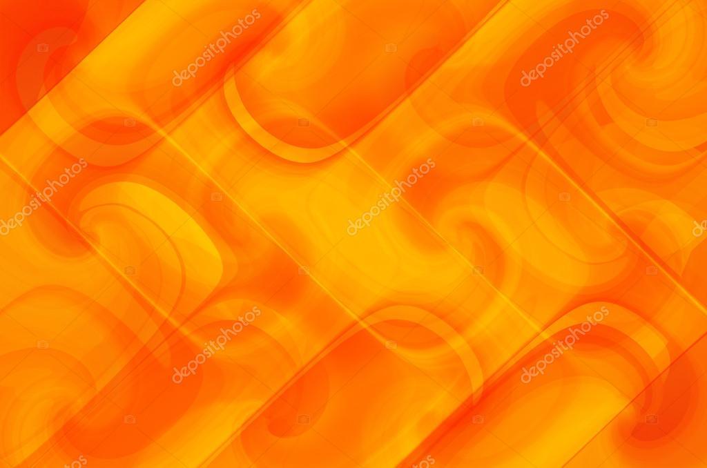 Fondos color naranja y amarillo curvas abstractas de - Amarillo naranja ...