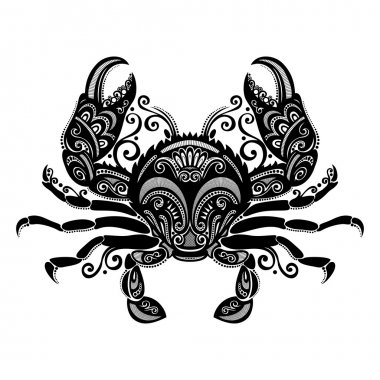 Vector Sea Crab