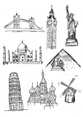 Hand Drawn Sightseeings