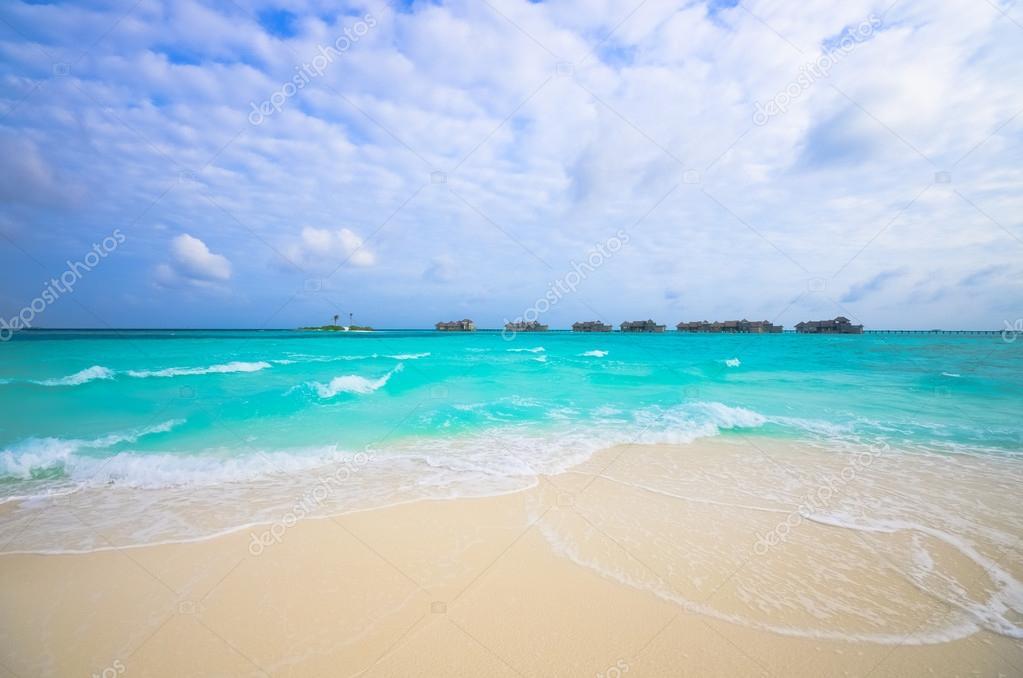 Amazing Maldives beach