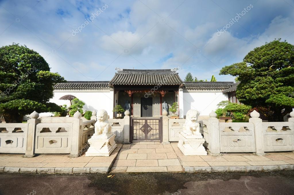 china tuin, singapore — stockfoto © erandalx #33018827