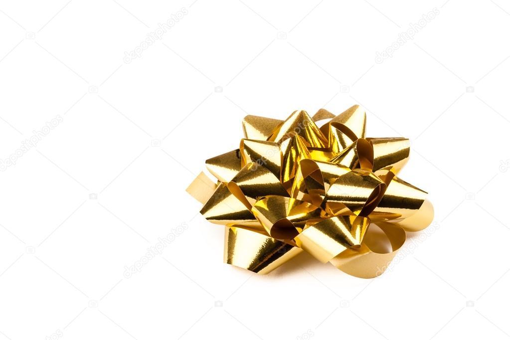 golden gift bow stock photo furo felix 41447247