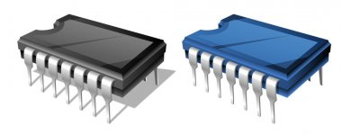 Computer chip or microchip