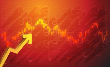 Stock Market Data - Illustration stock vector