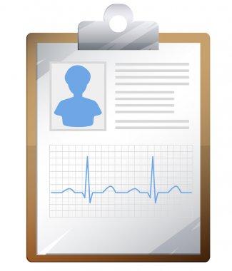 Medical Report - Illustration