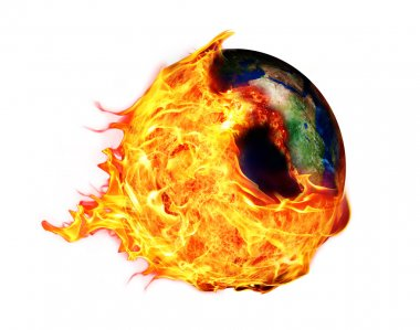 Global Warming and fire ball