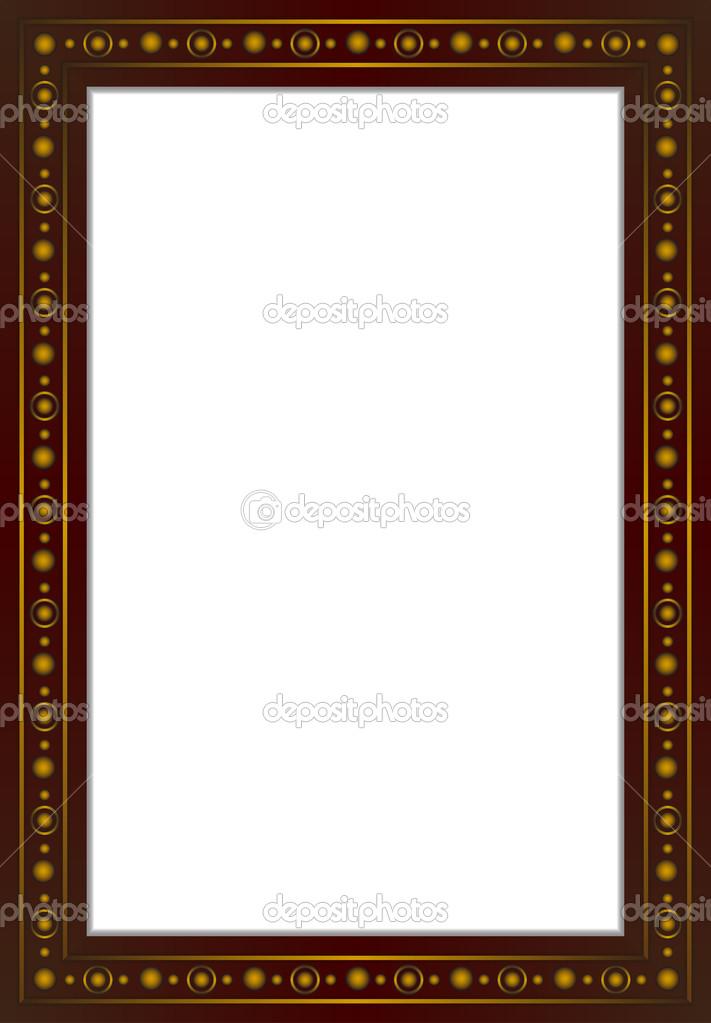 Cuadro marco Vevtor — Vector de stock © sazori #49723277