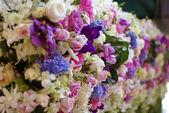 decorazione del fiore per nozze fondo