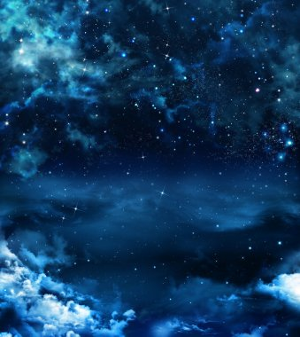 Beautiful background of the night sky