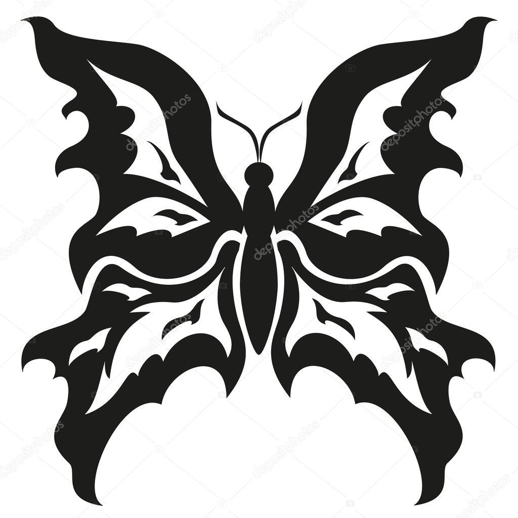 Tattoo Diseños Blanco Y Negro Diseño Blanco Y Negro Butterflies
