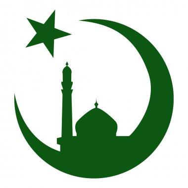 Symbol of Islam and mosque, ramadan