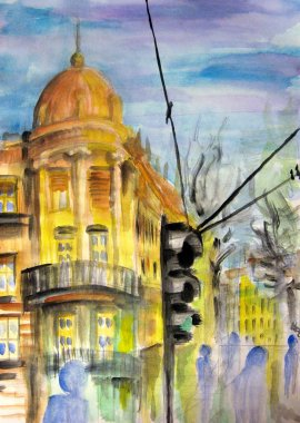 Belgrade street view
