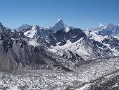 Ama dablam z kala patthar v Nepálu