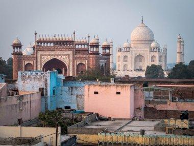 The Taj Mahal in Agra, India