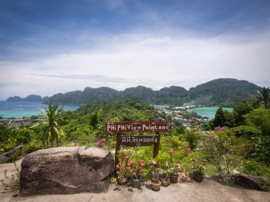 Ko Phi Phi Island Seen from Phi Phi Viewpoint One
