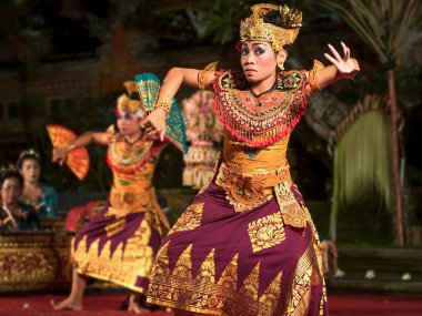 Traditional Balinese Legong Dance in Ubud, Bali