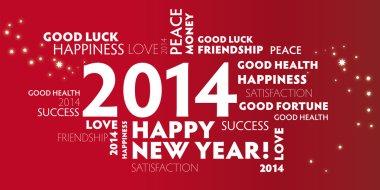 2014 New Year Greeting Card