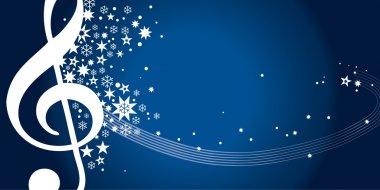 Concert voucher, gift, blue