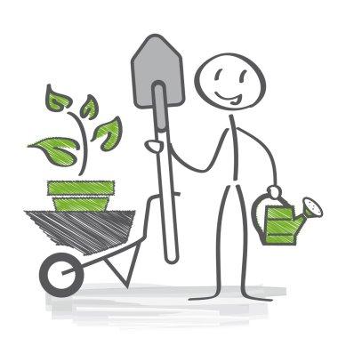 Gardener, allotment