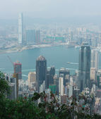 Photo Panorama of Hong Kong and Kowloon from Victoria Gap, near the to
