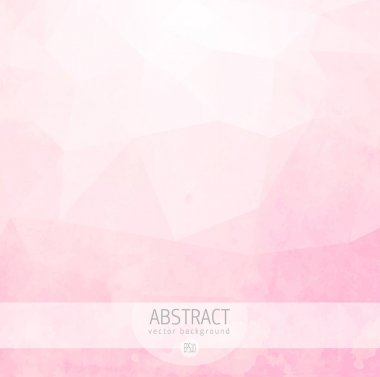 Abstract pink template for design
