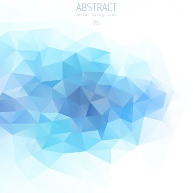 Blue Abstract background for design